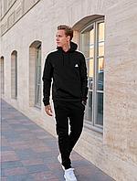 Тёплый спортивный костюм Adidas черний мужской