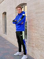 Тёплый спортивный костюм Adidas Синие мужской