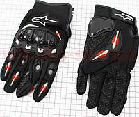 Перчатки Alpinestars  мотоциклетные L-черные