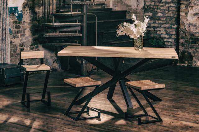 Стол кухонный в лофт стиле Искра