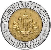 САН МАРИНО. 500 лир 1984г.  (АР)