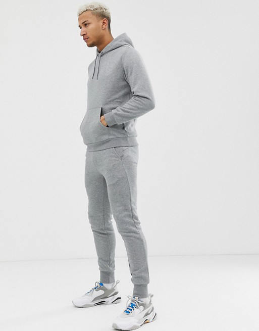 Мужской  спортивный костюм Кенгуру Серый