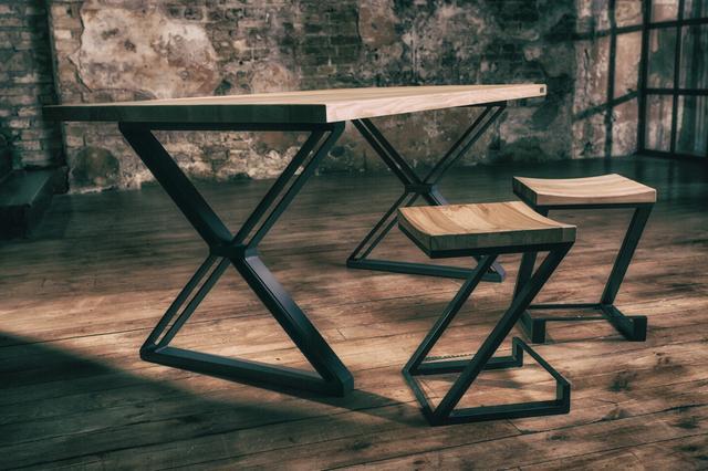 Стол кухонный в лофт стиле Iskra Furniture