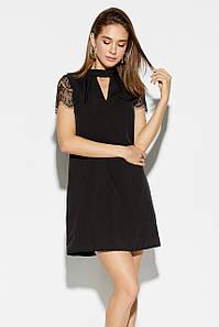 Коктейльне жыноче плаття Ilona, чорний
