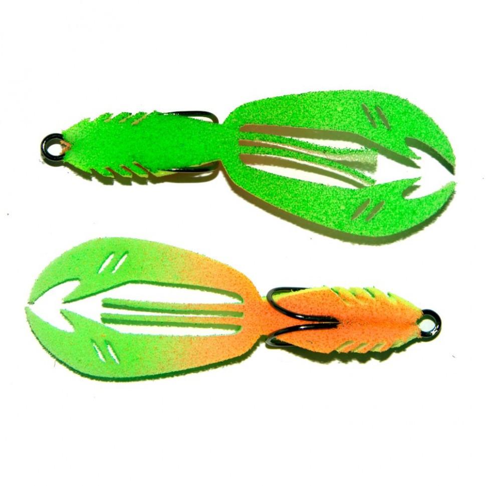 """Рыбка поролоновая """"Профмонтаж"""" 406 Рачок Crawfish 3.5` PR406 2шт"""