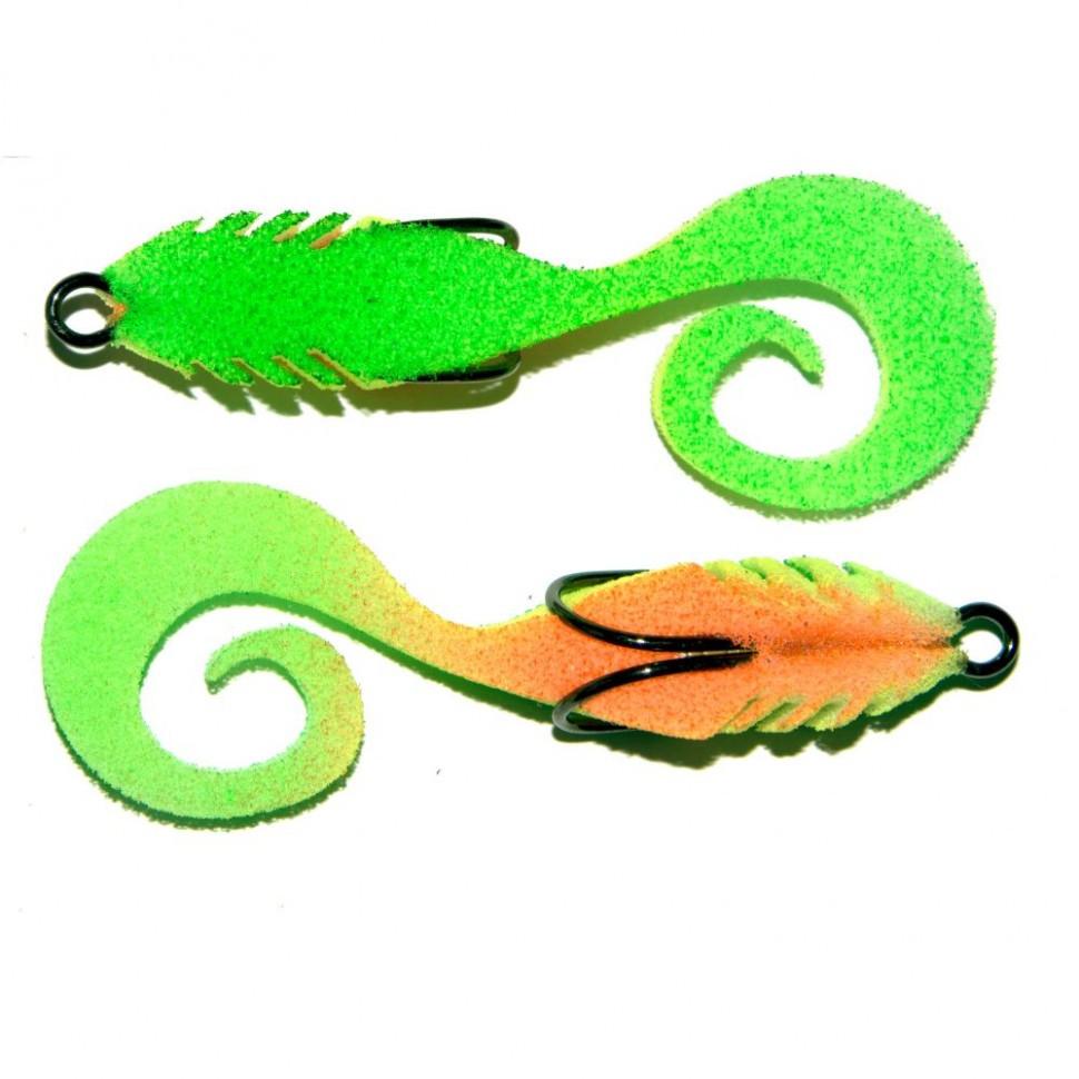 """Рыбка поролоновая """"Профмонтаж"""" 906 Dancing Tail 3.5` PR906 2шт"""