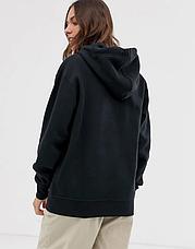 Женская кофта кенгуру черная, женское черное худи, фото 2