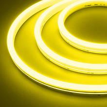 Світлодіодний неон #54-G жовтий 12V 6W/м SMD2835 вологозахищений AVT