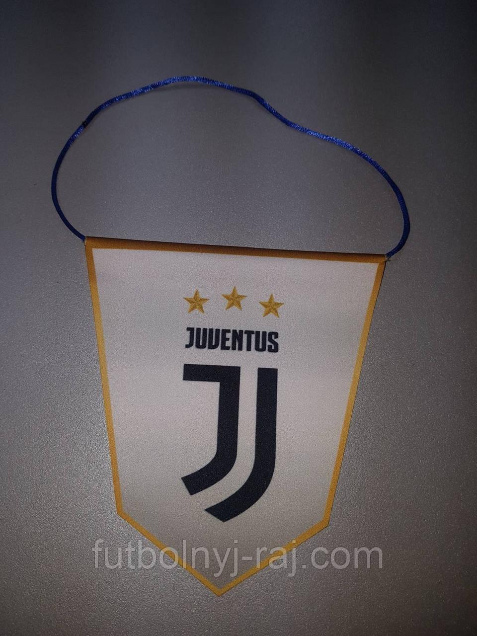 Вымпел  футбольный с изображением герба FC Juventus