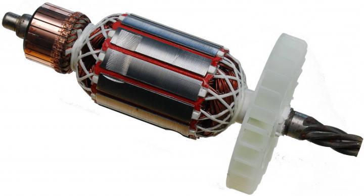 Якорь перфоратора Зенит ЗПП-2000 МАХ профи (175х45,5 мм 5z вправо), фото 2