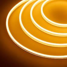 Світлодіодний неон #54-O помаранчевий 12V 6W/м SMD2835 вологозахищений AVT