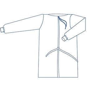 Халат одноразовий хірургічний Славна 54-56 (XL) нестерильний