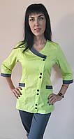 Женский медицинский костюм Китай коттон три четверти рукав, фото 1