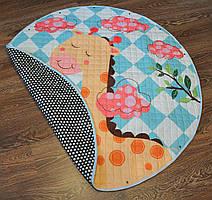 Дитячий килимок-мішок (Dizzy) круглий  150см. (ХБ тканину) (150-440-J)