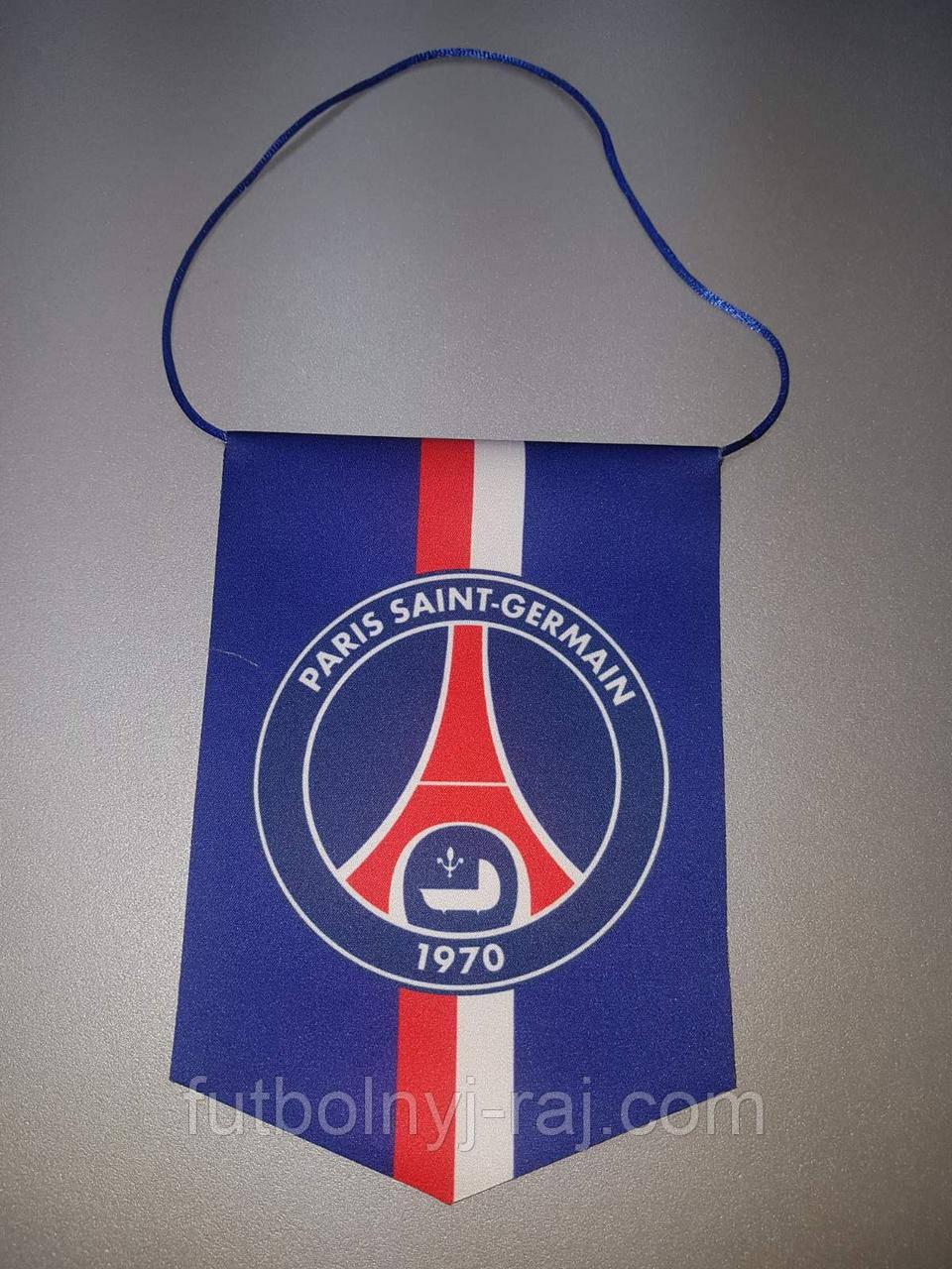 Вимпел футбольний із зображенням герба FC PSG