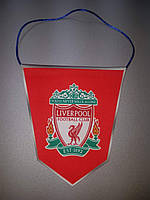 Вымпел  футбольный с изображением герба FC Liverpool