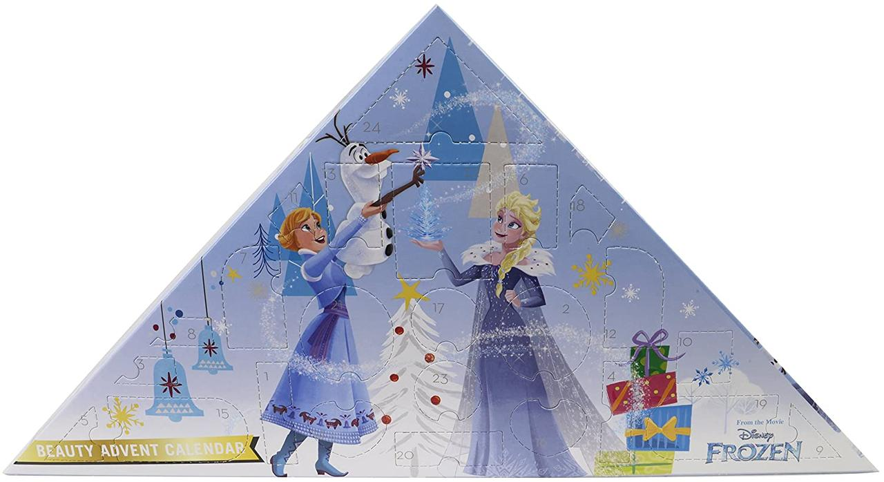 Адвент календар Крижане Серце 2 ( Frozen 2 Різдвяний, Новогодний календарь) Beauty Advent Calendar  Markwins