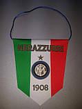 Вимпел футбольний із зображенням герба FC Inter, фото 2
