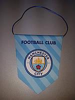 Вымпел  футбольный с изображением герба FC Manchester City