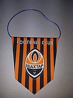 Вымпел  футбольный с изображением герба ФК Шахтер