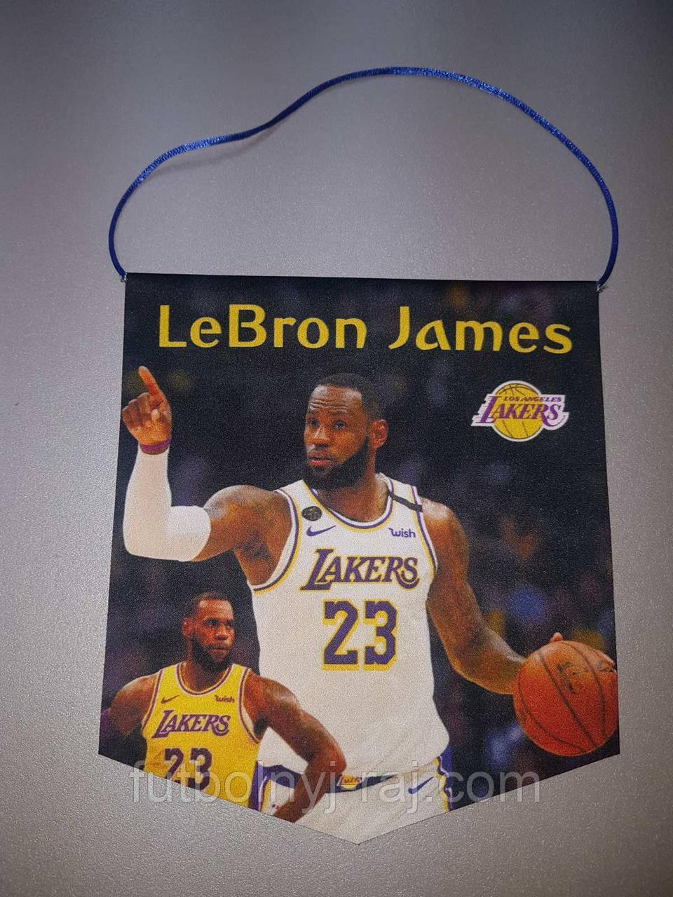 Вимпел футбольний із зображенням логотипу NBA LeBron James