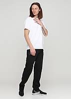 Черные спортивные демисезонные зауженные брюки Godsend-102