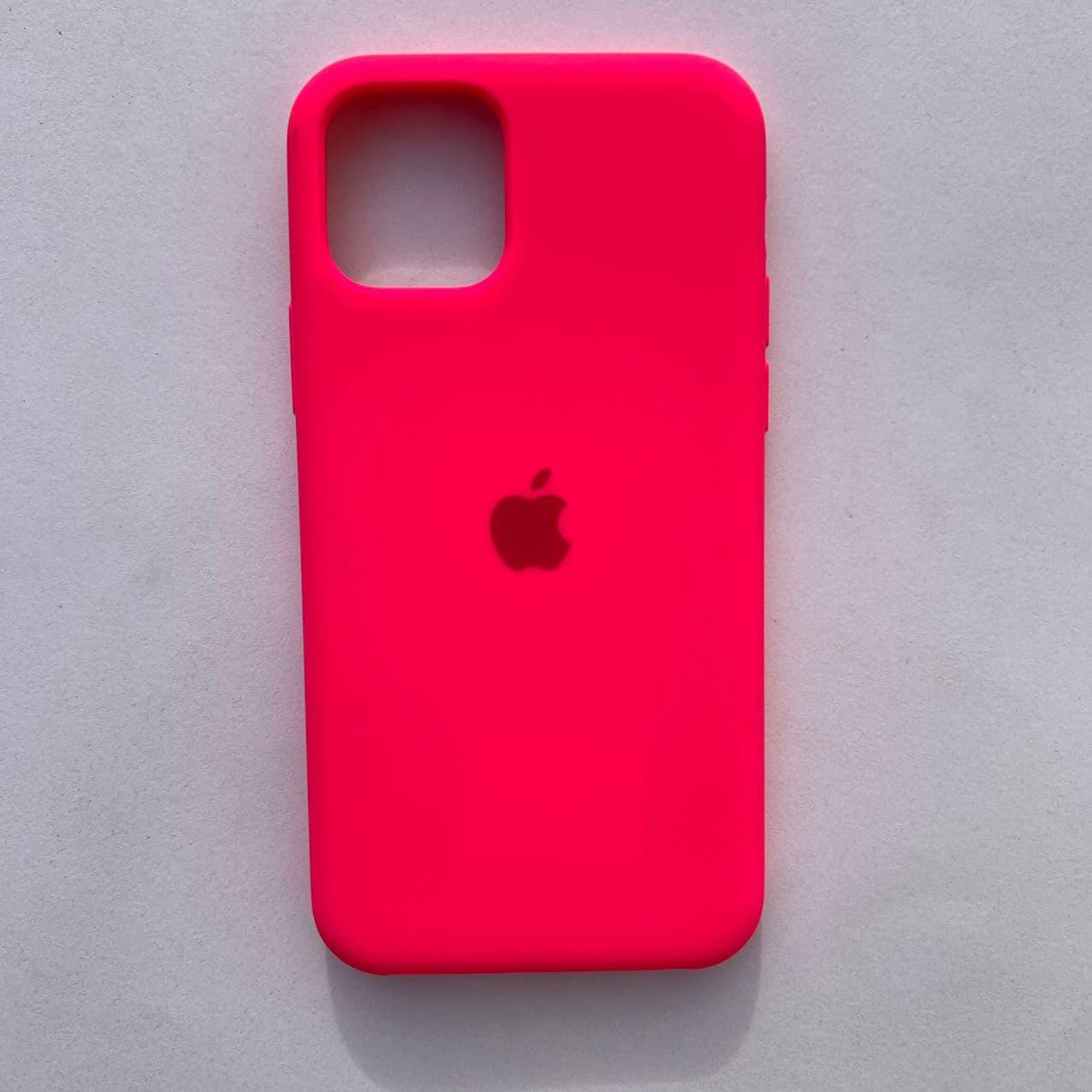 Чехол Silicone Case для Apple iPhone 11 Pro Neon Pink