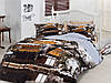 """Комплект постельного белья Евро 240*260 Турция Mariposa 3D """"Konak"""" - Сатин Delux хлопок 100%"""