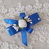 Бутоньерки на свадьбу на булавке