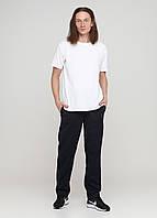 Темно-синие спортивные демисезонные зауженные брюки Godsend-103