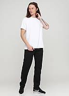 Черные спортивные демисезонные зауженные брюки Godsend-104