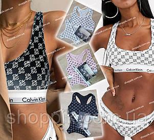 Женское белье Calvin Klein CK 50 топ и стринги