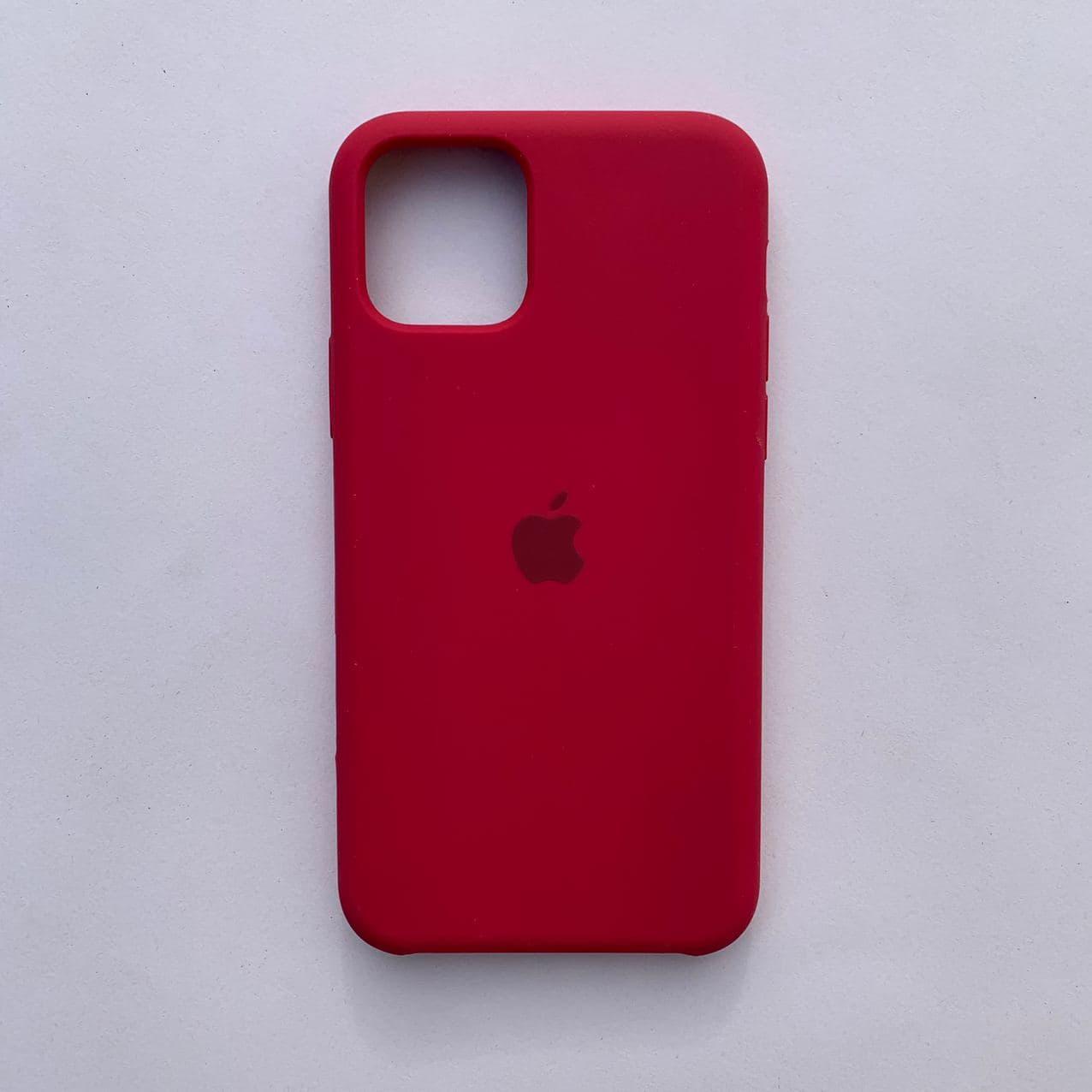 Чехол Silicone Case для Apple iPhone 11 Pro Rose Red