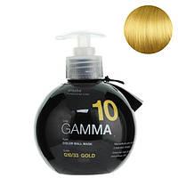 Маска для поддержания цвета волос Erayba Gamma Color Ball Mask G10/33 Золотистый 250 мл