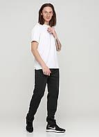 Темно-серые спортивные демисезонные зауженные брюки Godsend-106