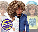 Кукла Создаваемый мир Светлые кудри Creatable World Character Kit Customizable Doll Blonde Curly Hair, фото 3