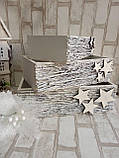 Оригинальный ящик к Новому году из натуральных материалов, 10х34х20см., 190 грн., фото 3