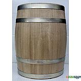 Бочка дубовая 100 литров для напитков (оцинкованный обруч), Дубовые бочки, Для напитков, Украина, 100, фото 4