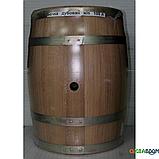 Бочка дубовая 100 литров для напитков (оцинкованный обруч), Дубовые бочки, Для напитков, Украина, 100, фото 5