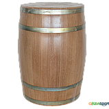 Бочка дубовая 80 литров (оцинкованный обруч), Дубовые бочки, Для напитков, Украина, 80, фото 8