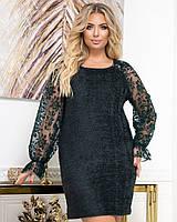 Нарядное женское платье большие размеры Г05422.11, фото 1