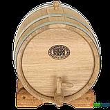 Бочка дубовая 15 литров (оцинкованный обруч), Дубовые бочки, Для напитков, Украина, 15, фото 2
