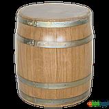 Бочка дубовая 15 литров (оцинкованный обруч), Дубовые бочки, Для напитков, Украина, 15, фото 7