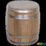 Бочка дубовая 5 л для вина, коньяка (оцинкованный обруч), Дубовые бочки, Для напитков, Украина, 5, фото 7