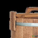 Кадка дубовая для солений 100 л БонПос (оцинкованый обруч), Кадки, Для солений, Украина, 100, фото 3