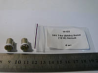 Светодиодная (LED 14122) лампочка с цоколем T4W-BA9s., фото 1