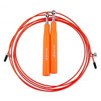 Швидкісна скакалка Way4you Ultra Speed Cable Rope 3, пластик, сталь, 3м., помаранчевий (w40036-or)