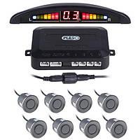 Парктроник Pulso LP-10180/LED/8 датчиков D=22mm/коннектор/grey (LP-10180-grey)