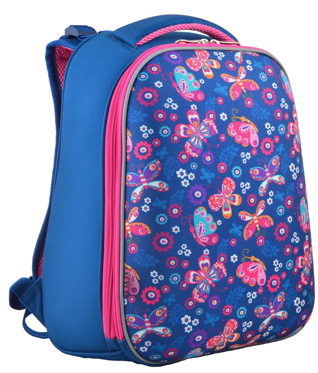 Рюкзак школьный каркасный 1 Вересня H-12-1 Butterfly, 38*29*15
