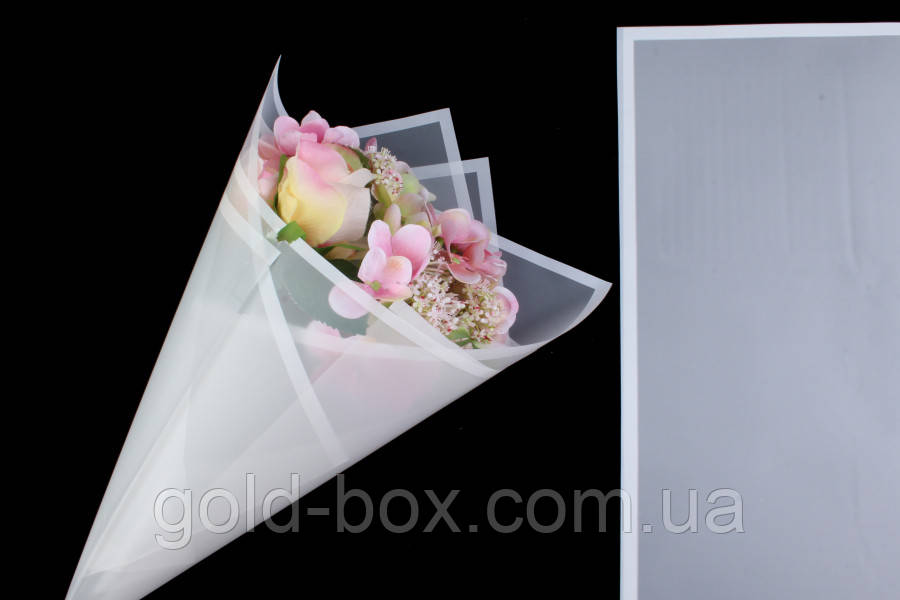 Матовая бумага-калька для цветов 10 листов